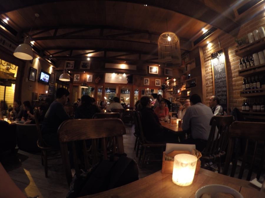 cafe bar 500 noches san cristobal violeta vaal viaje va al