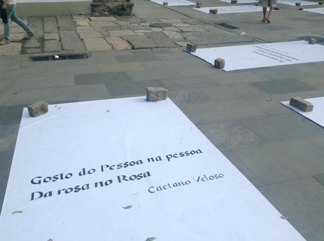 Língua Caetano Veloso Praça XV