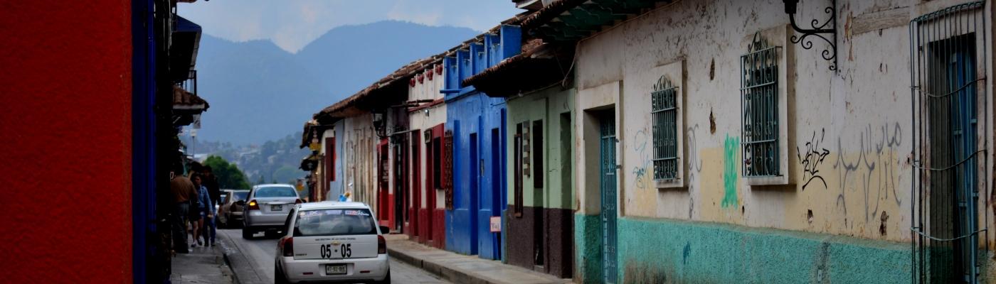 San Cristobal de las casas violeta va al viaje vaal